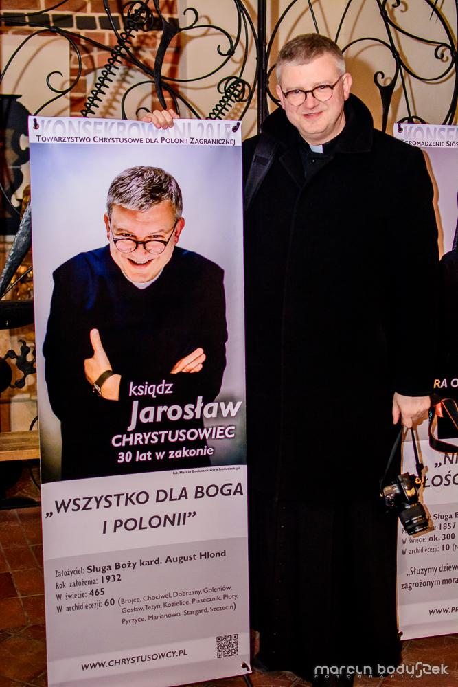 Fotorelacja z wystawy KONSEKROWANI 2015 w Katedrze św. Jakuba w Szczecinie, autor Marcin Boduszek, ks. Jarosław Staszewski, proboszcz, chrystusowiec